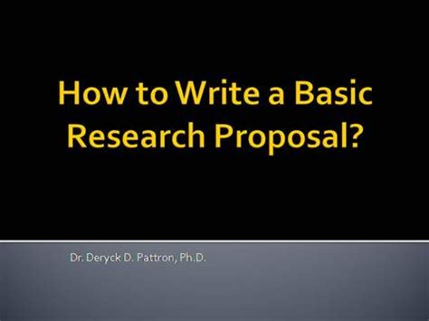 How Do You Write a Research Proposal for Academic Writing?